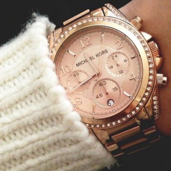 Michael Kors MK5263 Blair Rose Gold Tone Watch